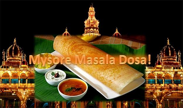 Yummy! - Mysore Masala Dosa