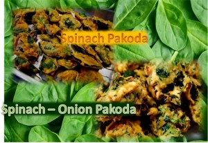 Delicious Spinach Pakoda