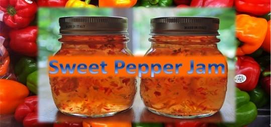 Sweet Pepper Jam