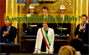A vegetarian city in Italy