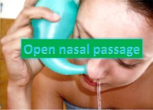 Open Nasal Passage To Stop Snoring