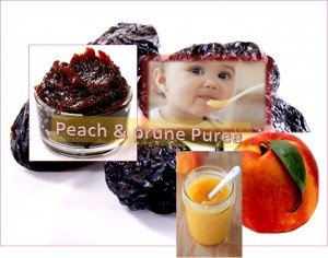 Peach & Prune Puree