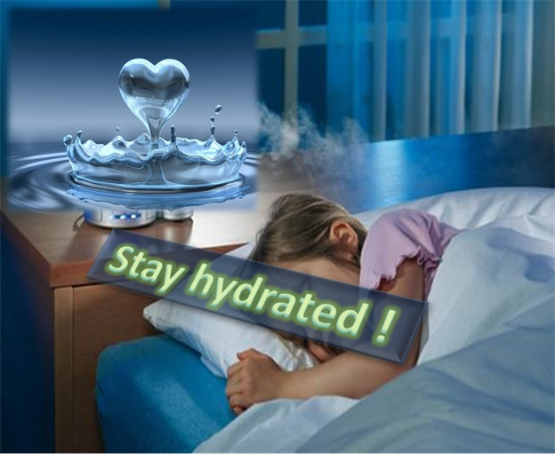 Stay Hydrated To Stop Snoring