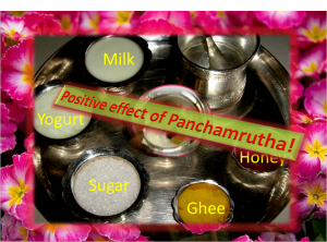 Benefits of Panchamrutha