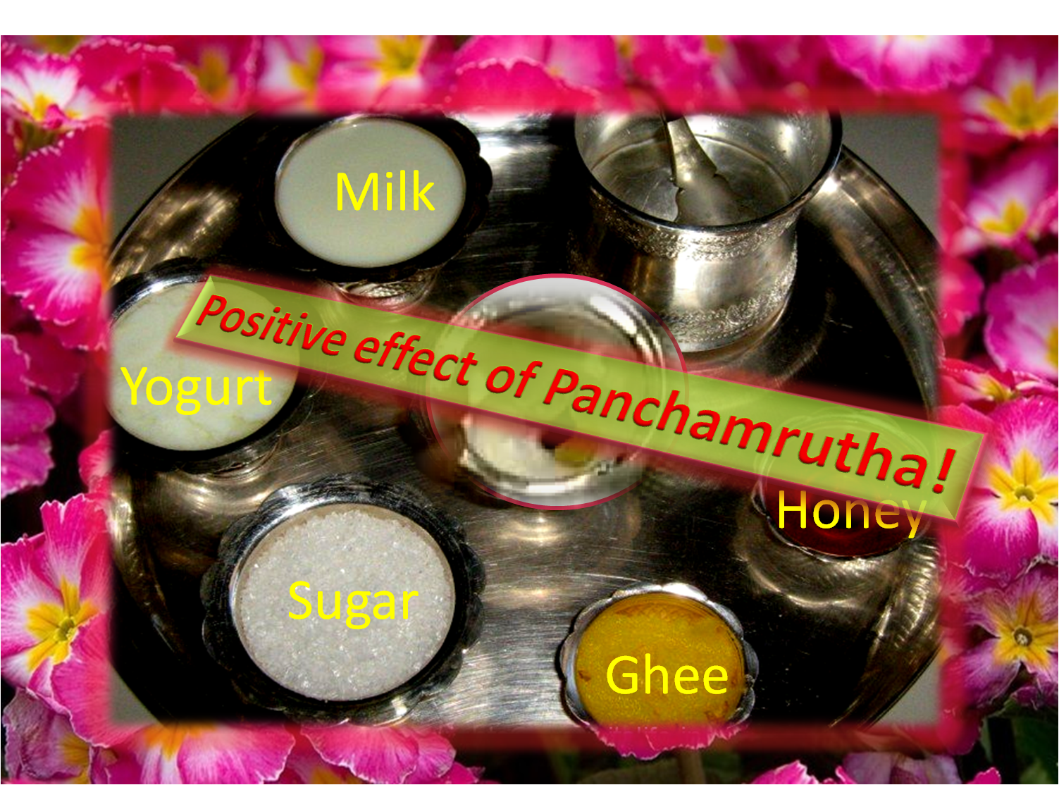 Benefits of Panchamrutha