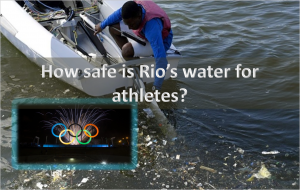 Rio's water for athletes
