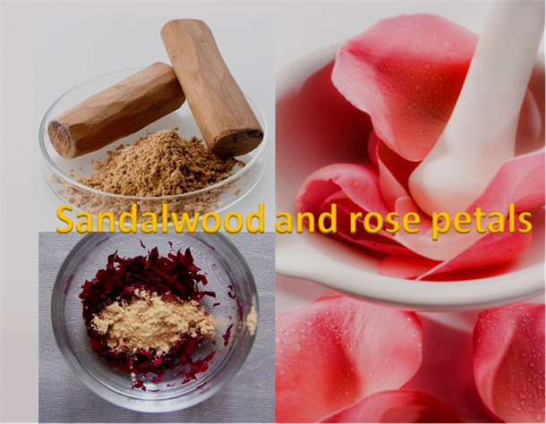 Sandalwood and Rose Petals Mask