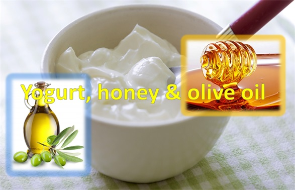 Yogurt, Honey & Olive Oil Mask