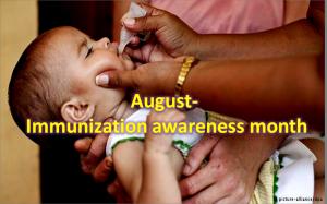 August - Immunization Awareness Month