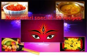 10 Simple and Healthy Navaratri Vegetarian Recipes