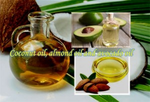 Coconut Oil, Almond Oil and Avocado Oil For Wrinkle Free Skin