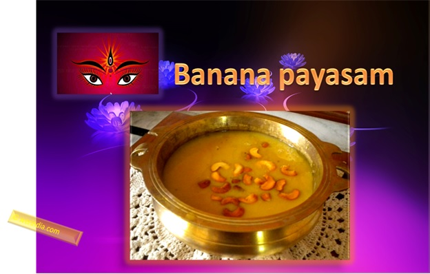 Banana Payasam For Navratri
