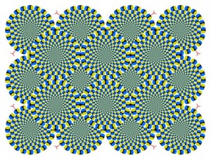 Are these circles are moving or not?