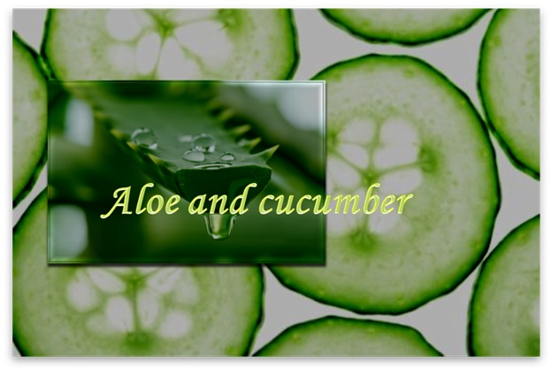 Cucumber Aloe Cream For Wrinkled Skin