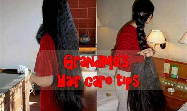 Grandma's Hair Care Tips