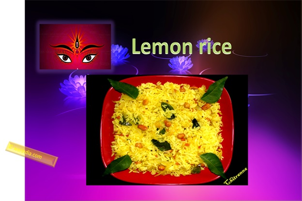 Lemon Rice For Navratri
