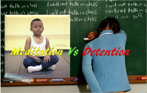 Meditation vs Detention