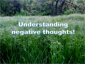 Understanding Negative thoughts