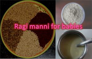 Ragi Manni For Babies