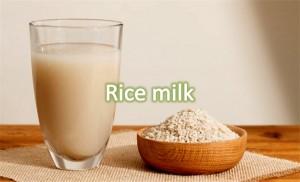 Rice Milk For Wrinkle Free Skin
