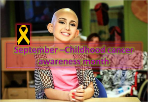 Childhood Cancer Awareness Month - September