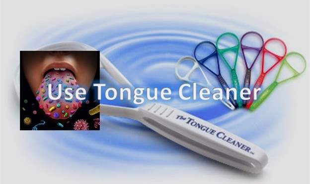 Use Tongue Cleaner