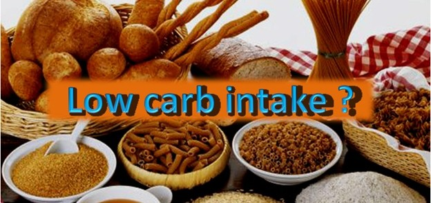 What happens with low Carbohydrate Intake?