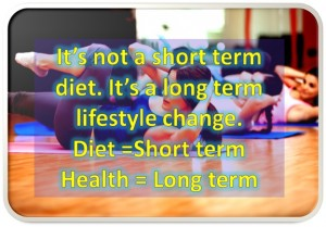 Short Term Diet and No Weight Loss