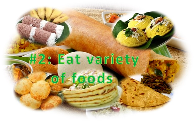 Eat Variety of Foods