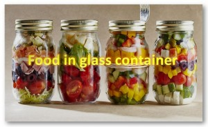 Food In Glass Containers