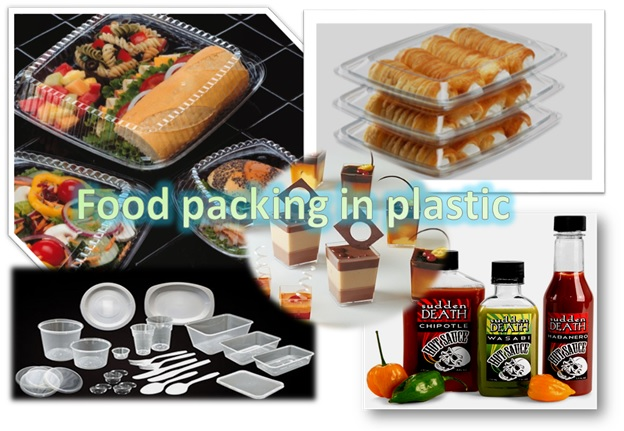 Food Packing In Plastic