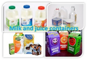Milk & Juice Containers