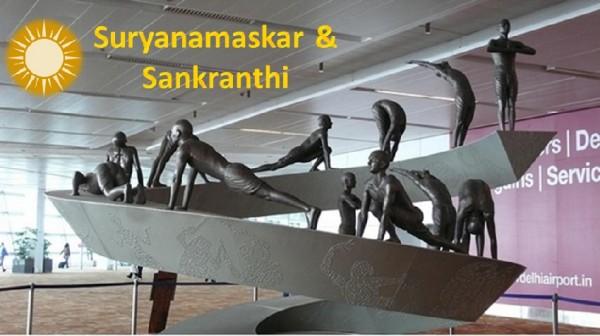 Practice Surya Namaskara on Makara Sankranthi Day