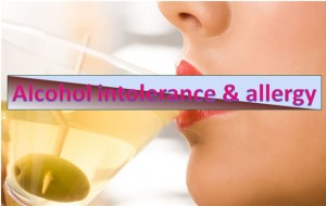 Alcohol Intolerance and Allergy