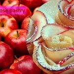 Apple rose pastry for Valentine's day
