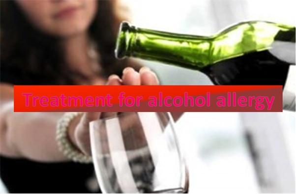 Alcohol Allergy Treatment