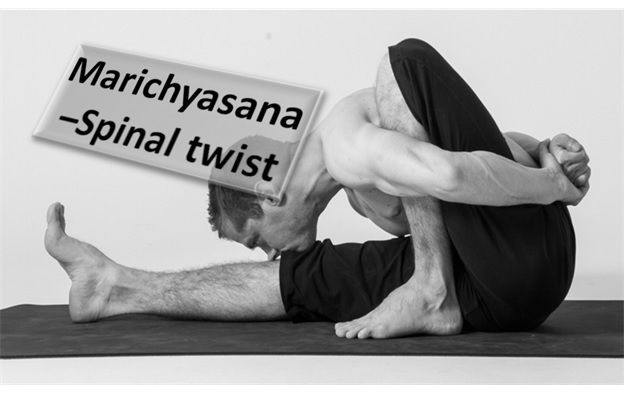 Spinal Twist - Marichyasana