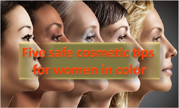 5 Safe Cosmetics Tips for Women of Color