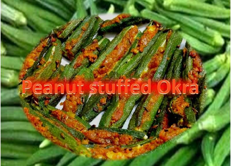 Peanut Okra Recipe