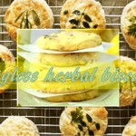 Eggless Herb Biscuit