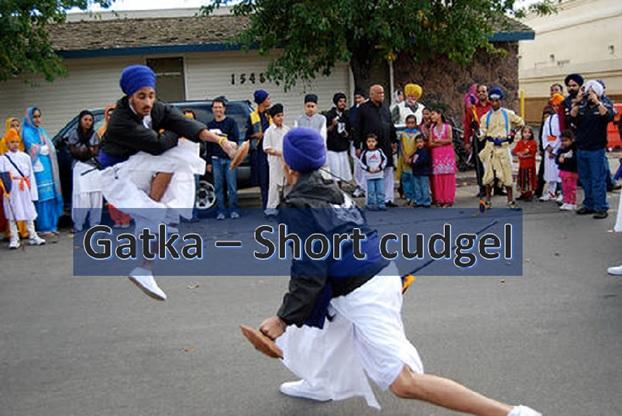 """Gatka: """"Short Cudgel"""""""