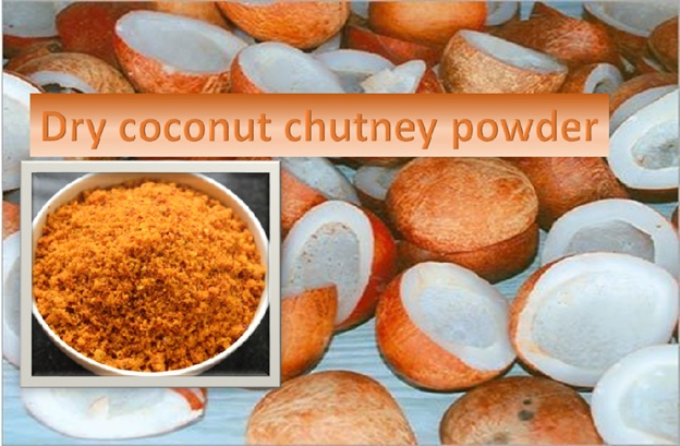 Dry Coconut Chutney Powder