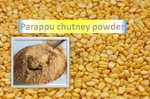 Parappu Chutney Powder