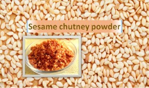 Sesame Chutney Powder