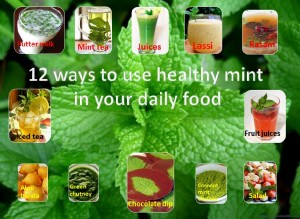 12 different ways to use mint