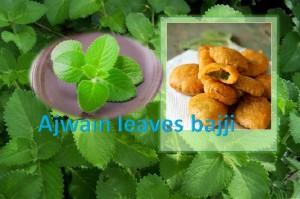 Ajwain leaf bajji