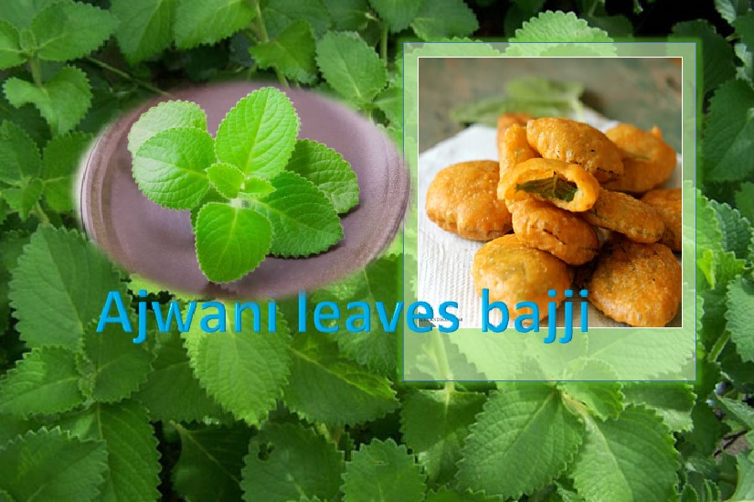 Ajwani leaf bajji