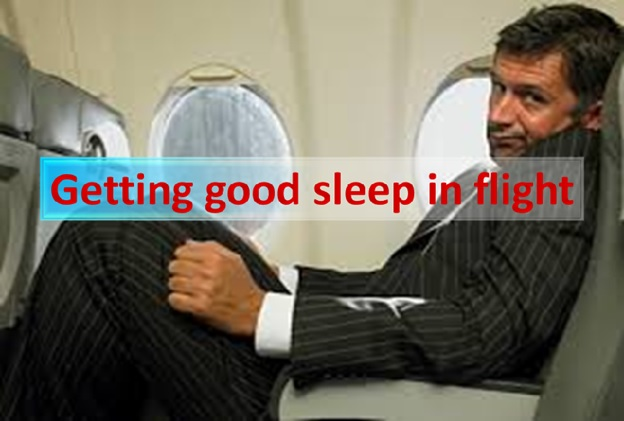 Getting Good Sleep in Flight