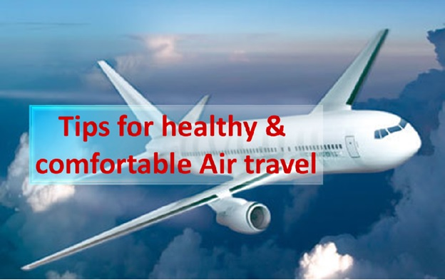 Tips for Safe & Healthy Air Travel
