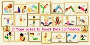 21 Yoga poses to boost kids confidence